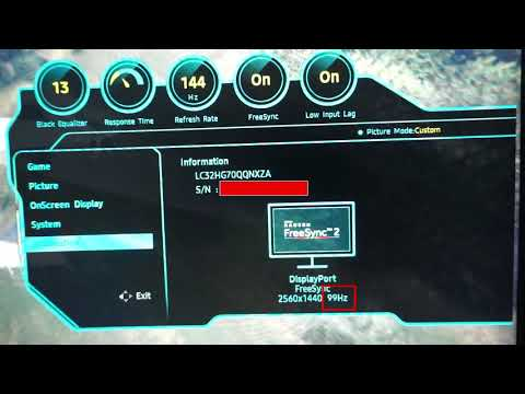How to know Freesync works (C32HG70, C27HG70, CHG70 monitors) - YouTube
