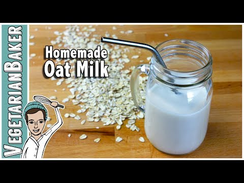 How To Make Homemade Oat Milk | Cheap & Dairy-Free