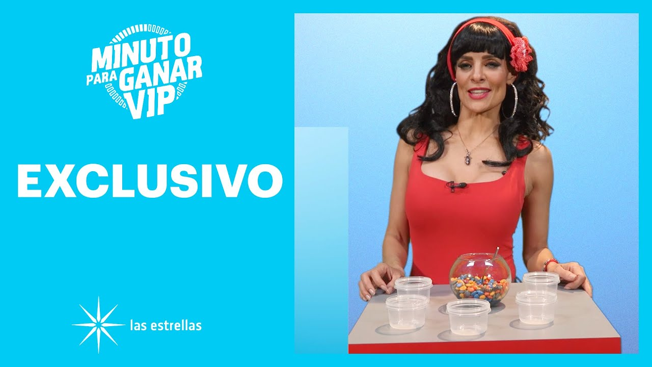 Minuto para ganar VIP: 'Rosa Aurora' participa en el Torneo VIP | Las Estrellas