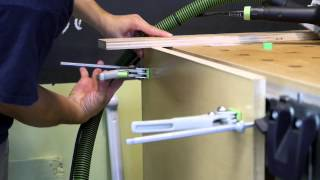 Building A Slab Plywood Door With The Festool System, Part Ii - Flush Trimming