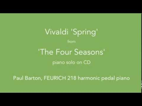Vivaldi 'The Four Seasons' - PIANO SOLO with Harmonic Pedal