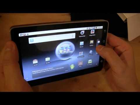Viewsonic Viewpad 7 Unboxing und ausfuehrlicher Testbericht