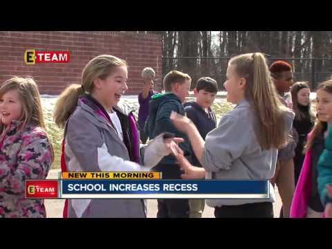 Benefits to school recess