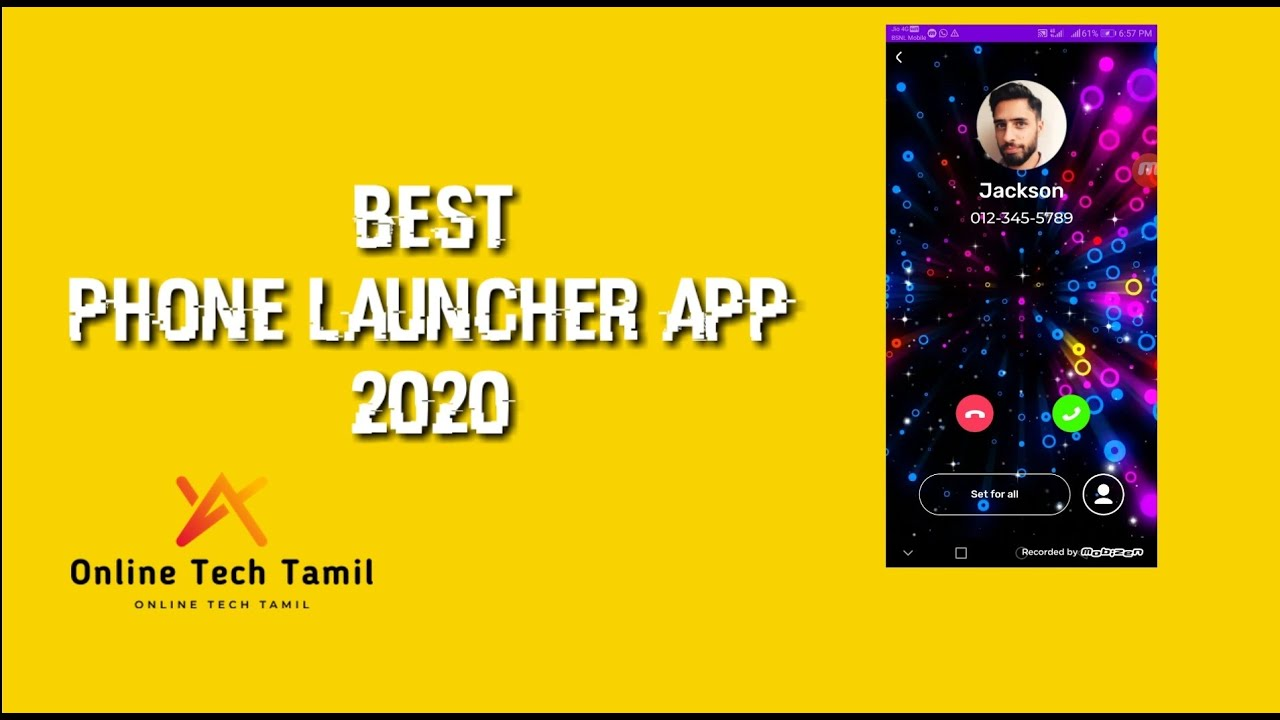 New Color Phone Launcher best app 2020 - YouTube