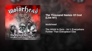 The Thousand Names Of God (Live NY)