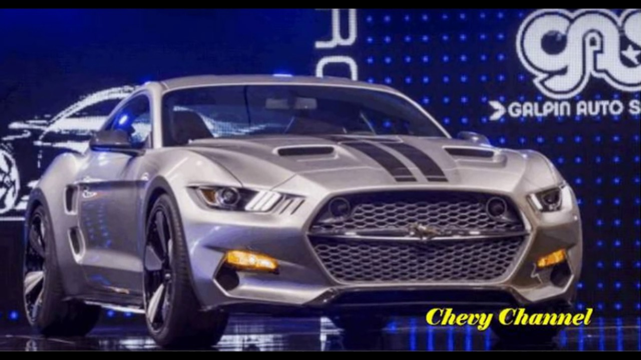 2017 Ford Mustang Rocket Interior And Exterior Redesign Concept