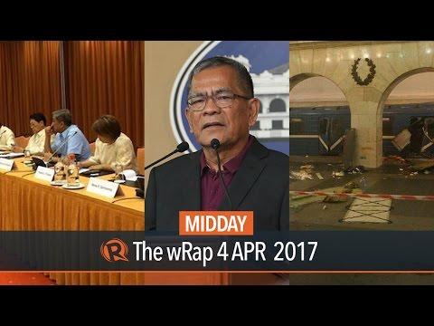 Sueno, peace talks, Russia bombing | Midday wRap