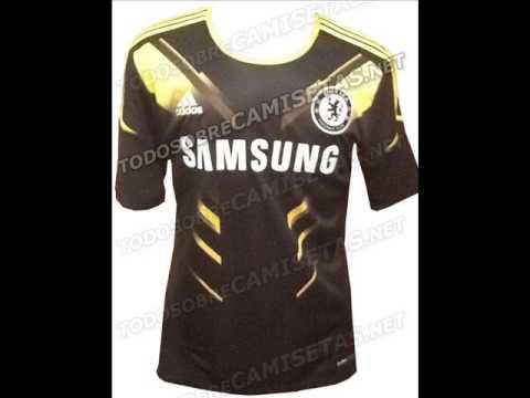 Camisetas de Chelsea 2012/2013.