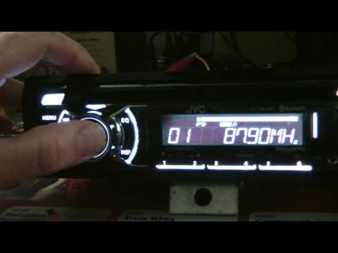 jvc kd-r840bt / kd-a845bt / kd-r740bt cd receiver initial inspection  -  youtube