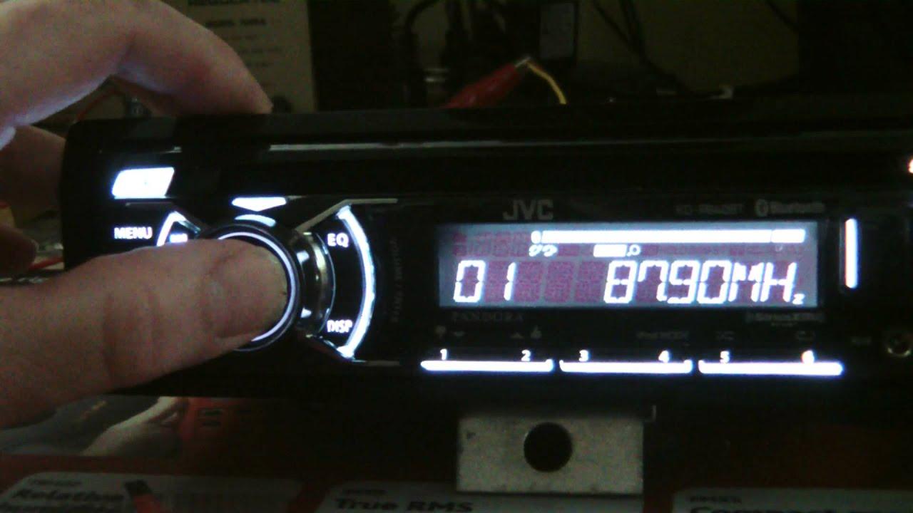 jvc kd r840bt kd a845bt kd r740bt cd receiver initial inspection  [ 1280 x 720 Pixel ]