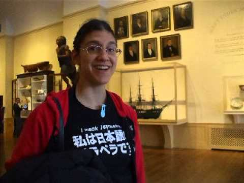 Roxanne's vlog at the Peabody Essex museum