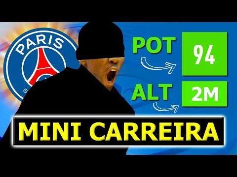 SURGE UM FUTURO MONSTRO NO PSG! | Mini Carreira Paris Saint-Germain #02
