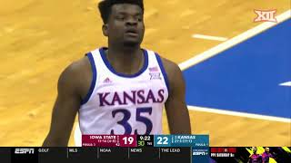 Iowa State vs. Kansas Men's Basketball Highlights