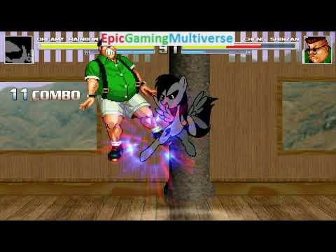 Cheng Sinzan VS Dreamy Rainbow On The Hardest Difficulty In A MUGEN Match / Battle / Fight