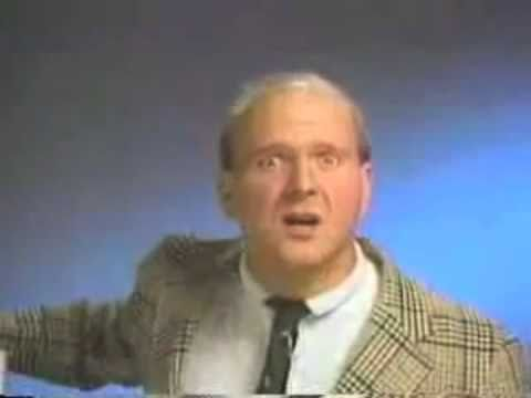 Microsoft Windows 1.0 with Steve Ballmer (1986)