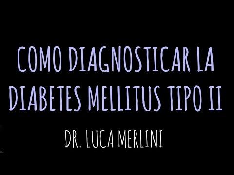 Criterios Diagnósticos de la Diabetes Mellitus tipo 2
