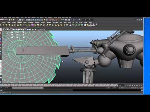Creating More Complex Shapes in Maya- With Artist Philip Dimitriadis