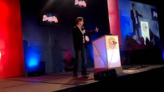 Jeff Foxworthy on John Smoltz and being inducted in the Atlanta Braves Hall of Fame.