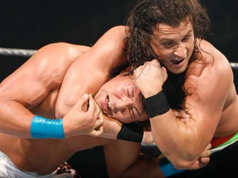 WWE Superstars: Yoshi Tatsu vs. Caylen Croft