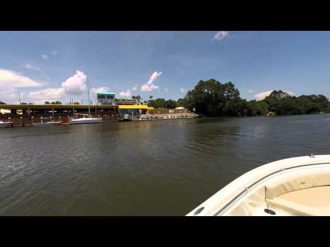 Orange Beach, Alabama Boat Ride Through Cotton Bayou, Perdido  Pass, ICW (Intracoastal Waterway)