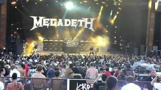 Megadeth - Trust @ Mayhem Fest - Denver, CO July 17, 2011