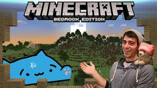 Minecraft Friday - Bedrock Realms and Hypixel Minigames [with viewers!]