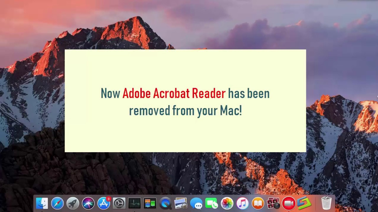 How to Quickly Remove Adobe Acrobat Reader DC on Mac