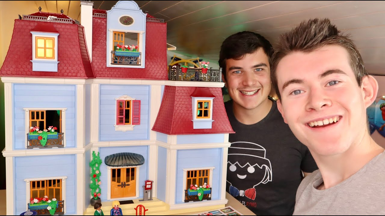 unboxing maison playmobil traditionnelle playmobil dollhouse francais