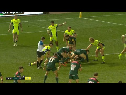 Nick Malouf scores thanks to superb offload from Mapapalangi