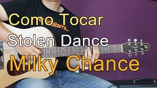 Como Tocar Stolen Dance de Milky Chance en guitarra acústica - Tutorial completo