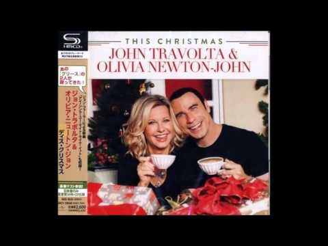 Olivia Newton John White Christmas with John Travolta - YouTube