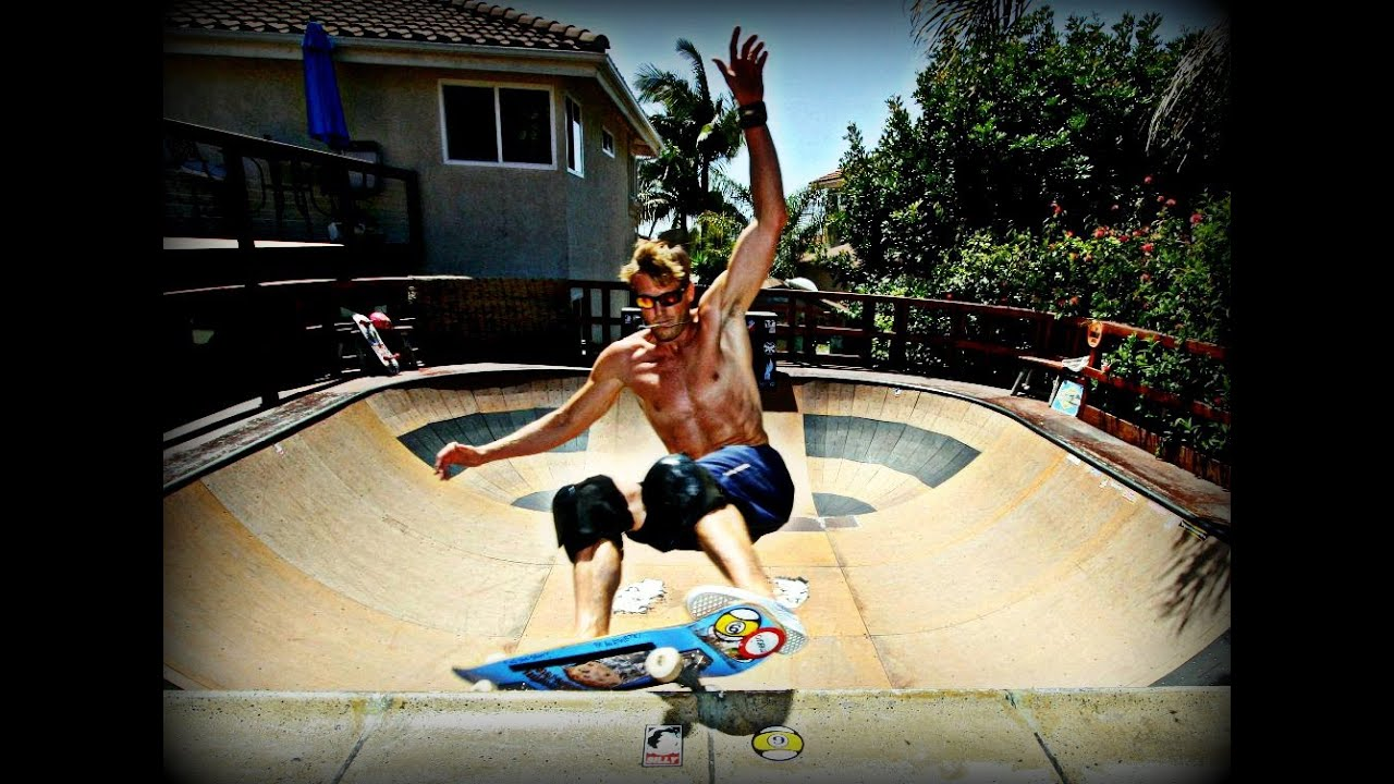 how to make a backyard skate bowl