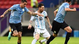 Фото Обзор матча Аргентина - Уругвай - 1:0. Copa America-2021