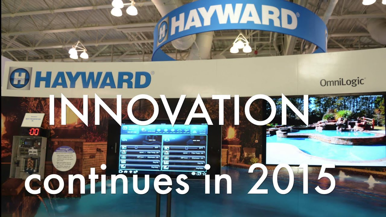 Hayward at the 2015 pool spa show youtube for Pool spa show vegas 2015