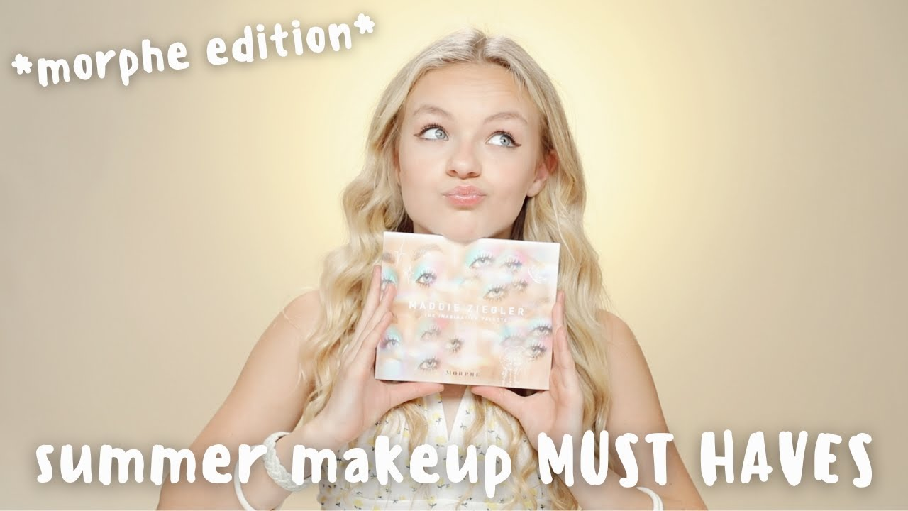 What Makeup You NEED This Summer!!   Pressley Hosbach