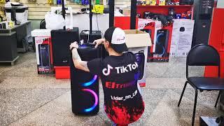 Мощный комбик Eltronic 1025 DanceBox 300 едет в г Мытищи Московской области  для Евгения Валерьевича