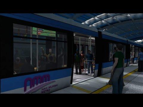 Navi Mumbai Metro Rail Project ( Virtual 3D Walkthrough by NMM )