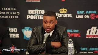 Errol Spence on how sparring Jermell Charlo is helping him prepare for Kell Brook
