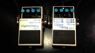 Boss DD-3 vs DD-7