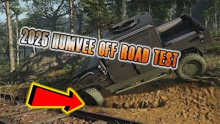 2025 Humvee Off Road Test | Tom Clancy's Ghost Recon Breakpoint