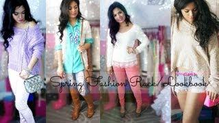 Spring Fashion Rack/Lookbook - Belinda Selene