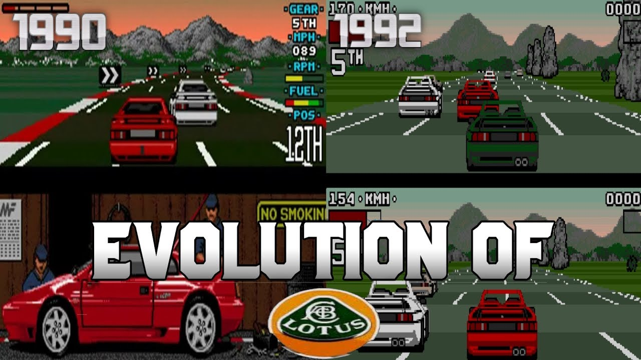 Graphical Evolution of Lotus (1990-1992)