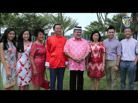 Sultan of Johor : Chinese New Year Celebration , Taman Setia Tropika 2016.