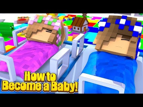 LITTLE KELLY & LITTLE CARLY TURN INTO BABIES!!! - Minecraft Little Club Adventures