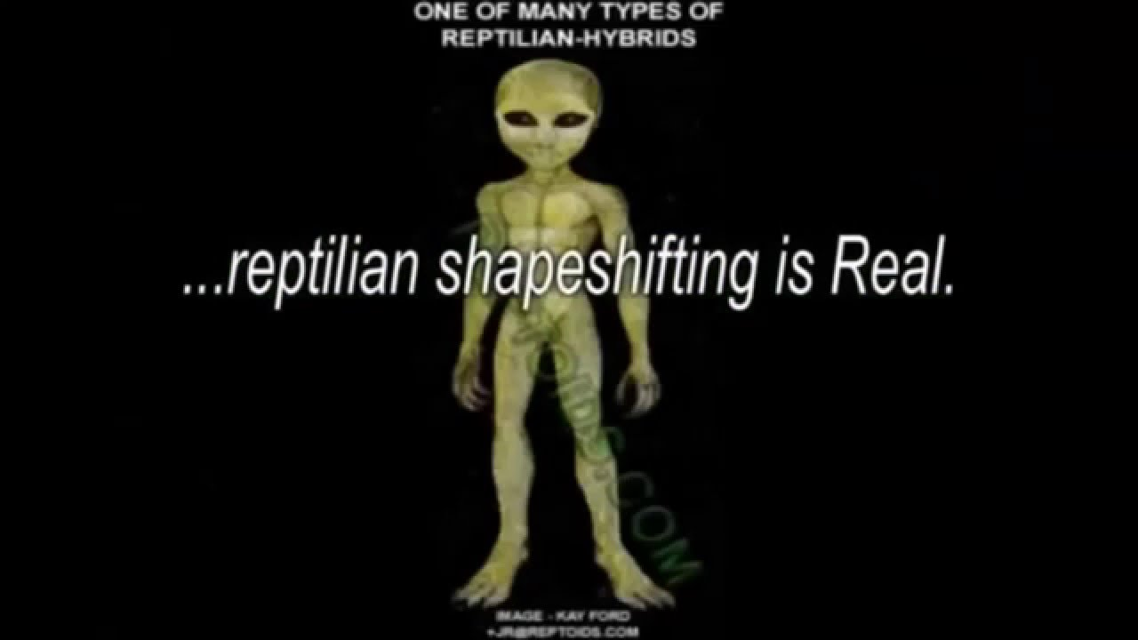 The Science behind Reptilian Shapeshifting