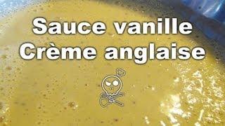 Sauce Vanille - Crème Anglaise - Recette Facile - Pâtisserie - Dessert - Albarock