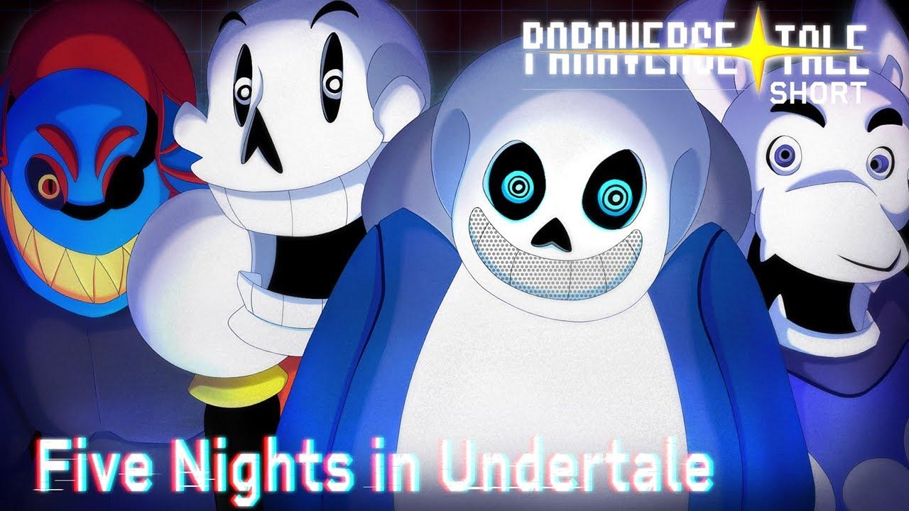 Paraversetale Five Nights In Undertale Short Youtube