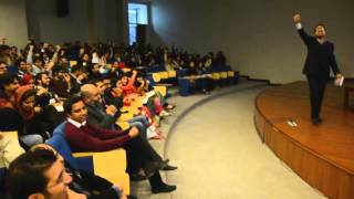 Motivational Lecture for Youth by Qaiser Abbas (Part 1) at LUMS