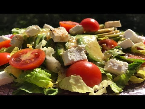 Avocado & Feta Cheese Salad Recipe