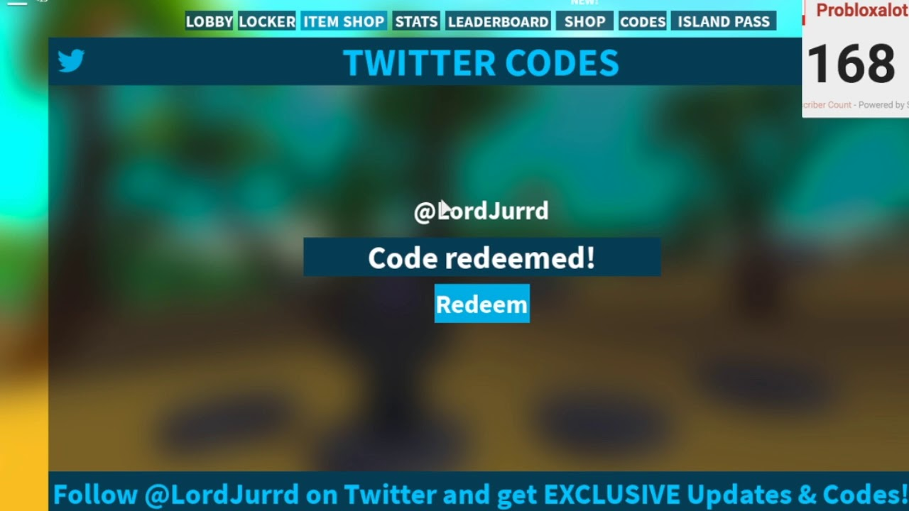 New Island Royale Code In Roblox September October Youtube